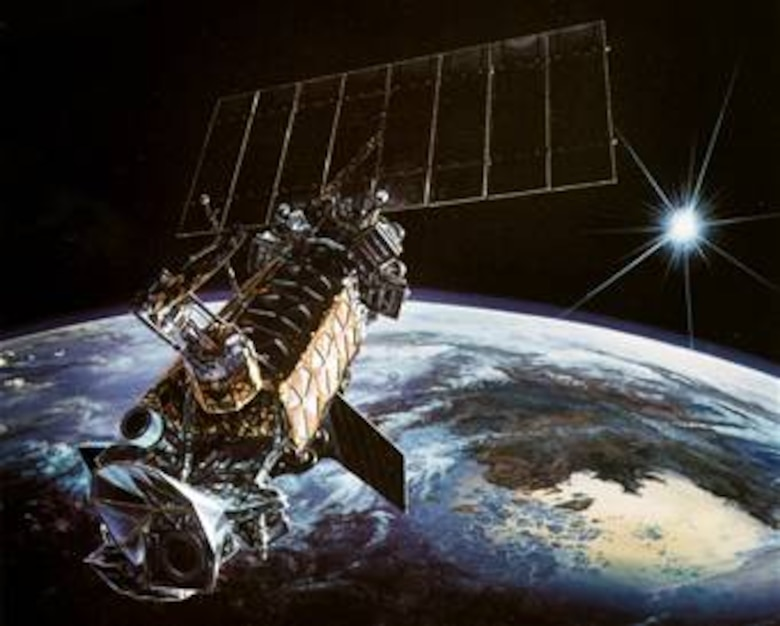 Defense Satellite Meteorological Program (DMSP), supported by the 6th Space Operations Squadron at Schriever Air Force Base, Colo. Image courtesy of Lockheed-Martin for Air Force and media publications; use for commercial purposes is prohibited.