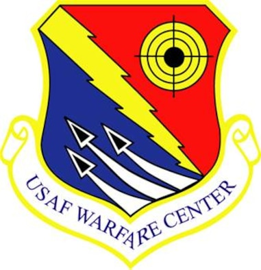 U.S. Air Force Warfare Center patch design,