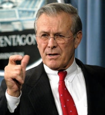 Former Secretary of Defense