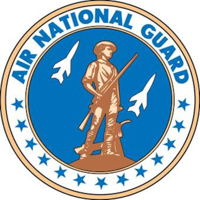 Air National Guard Seal (Color).  Image is 7.5x7.5 @ 300 ppi.   Department of Defense and Military Seals are protected by law from unauthorized use. These seals may NOT be used for non-official purposes. For additional information contact the appropriate proponent.