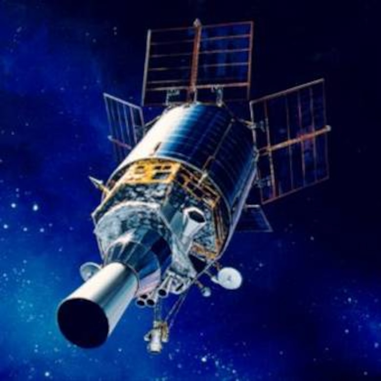 The Air Force Space Command-operated Defense Support Program (DSP) satellites are a key part of North America's early warning systems.  In their 22,300-mile geosynchronous orbits, DSP satellites help protect the United States and its allies by detecting missile launches, space launches and nuclear detonations.