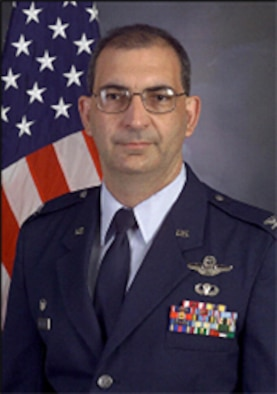 PETERSON AIR FORCE BASE, Colo. (AFRC) - Col. James Muscatell accepted command of the 302nd Airlift Wing here on March 4, 2006. (U.S. Air force photo)