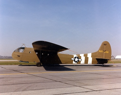 DAYTON, Ohio -- Waco CG-4A at the National Museum of the United States Air Force. (U.S. Air Force photo)