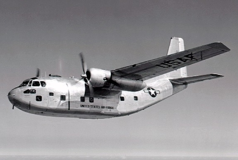 The C-123 Provider was a tactical airlifter that saw a lot of action during the Vietnam War.  Although designed and primarily used as a troop and cargo transport, some Providers, known as the UC-123, were outfitted with special nozzles that would disperse defoliant or insecticides.  The C-123 could carry 61 troops and transport 15,000 pounds of cargo.  (USAF Historical Photo)