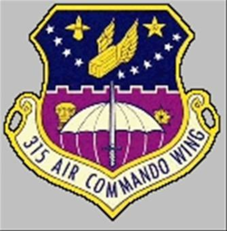 This the emblem that the 315 Air Commando Wing used from 1967 to 1968,  The 315 ACW was stationed at Phan Rang Air Base, South Vietnam from 1967 until the deactivation of the 3-1-5 in 1972.