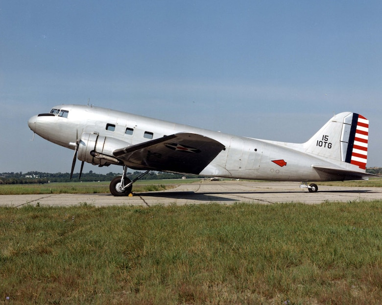 DAYTON, Ohio -- The Douglas C-39 is currently in storage at the National Museum of the United States Air Force. (U.S. Air Force photo)