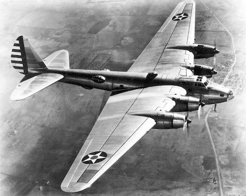 Boeing XB-15 in flight. (U.S. Air Force photo)