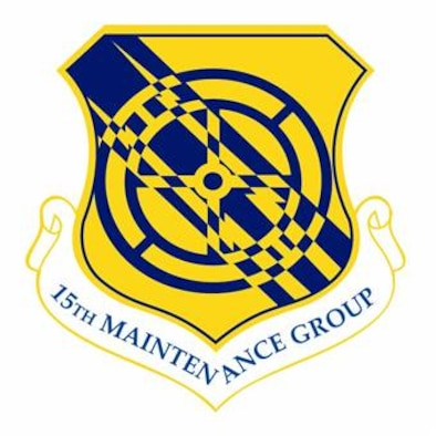 The shield of the 15th Maintenance Group