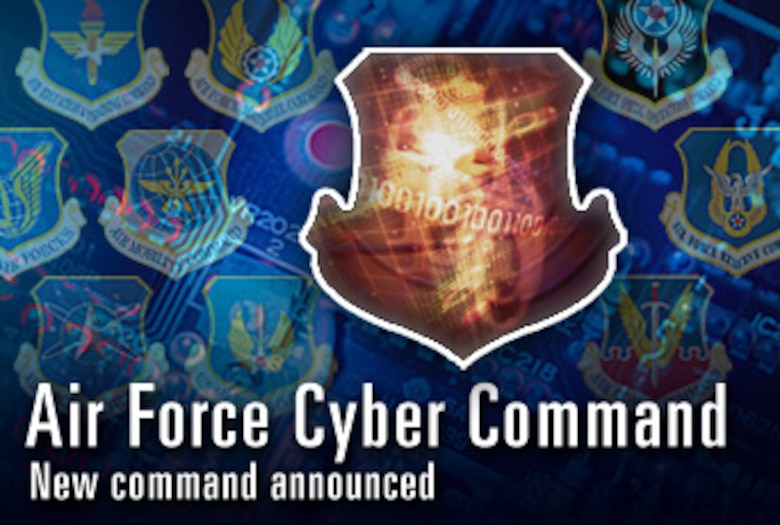 8th Air Force to become new cyber command  (U.S. Air Force graphic)