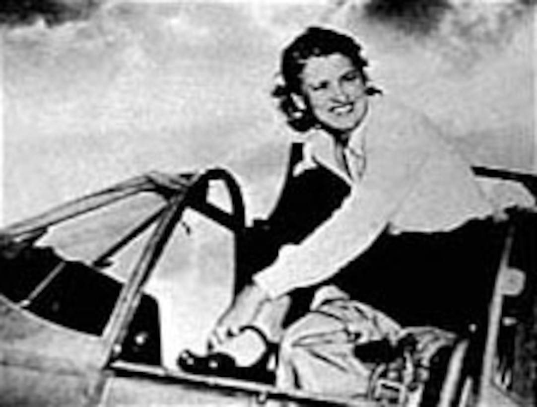 Jacqueline Cochran was an advocate for a women's pilot program during World War II. (U.S. Air Force photo)