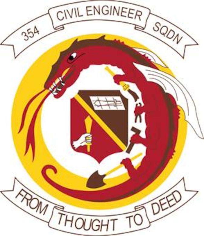 354th Civil Engineer Squadron (Color).