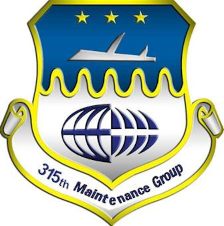 The 315th Maintenance Group Patch