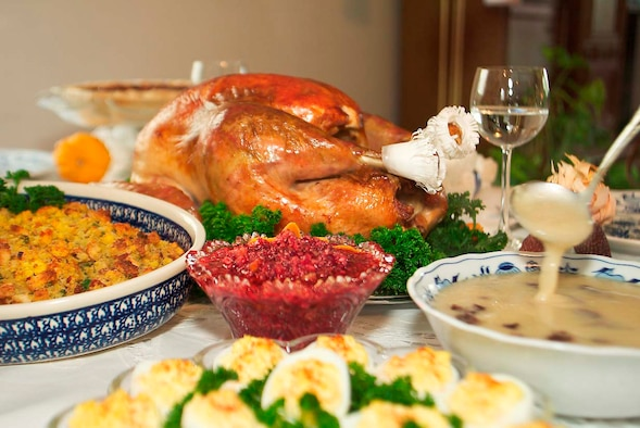Thanksgiving dinner. (Courtesy photo)