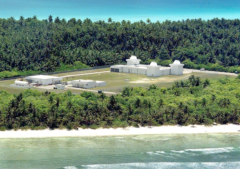 Ground-Based Electro-Optical Deep Space Surveillance sites, such as Detachment 2,  Diego Garcia, British Indian OceanTerritory shown here, play a vital role in tracking deep space objects.