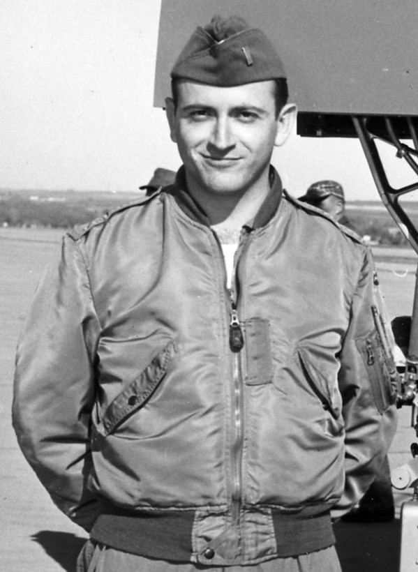 Johnny Armstrong, 412th Test Wing Hypersonic Flight Test Team chief engineer, arrived at Edwards as a second lieutenant in 1956.   (Courtesy photo)