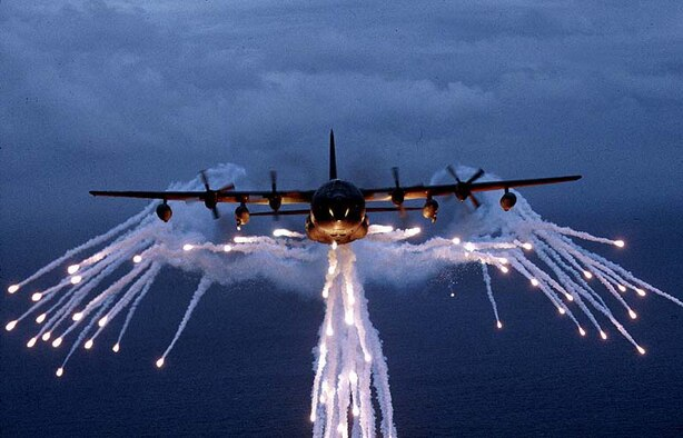 MC-130Es, like the one pictured above, are participating in an Avionics Modernization Program here and are scheduled for their first flight in August 2006. Test teams from the 418th Flight Test Squadron are currently attending aircrew qualification training on the AMP.  (Courtesy photo)
