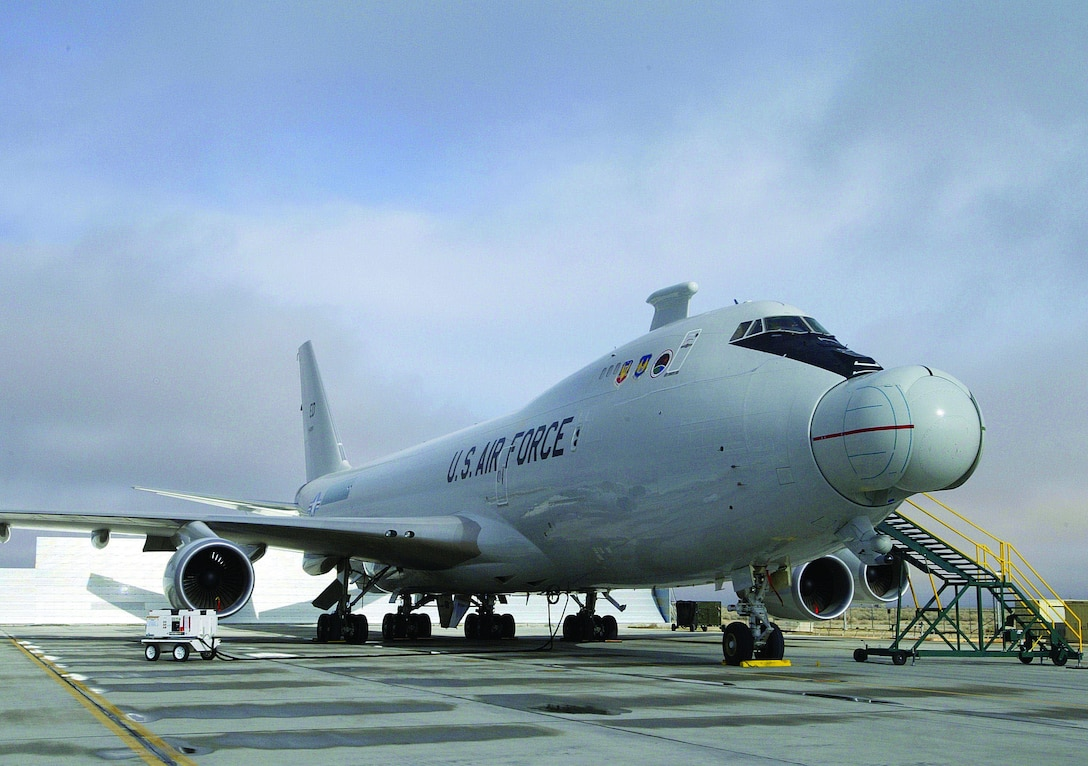 The Airborne Laser program, formerly of the 452nd Flight Test Squadron, now falls under the 417th Flight Test Squadron, which was activated in a ceremony March 16, 2006. The 417th FLTS, comprised of about 750 people, including the contractor workforce and the government workforce, is responsible for flight testing the YAL-1A Airborne Laser aircraft, shown above. The aircraft is currently in Wichita, Kan., receiving modifications to the sub-structure of the aircraft to accommodate the integration of the weapons system.  (Photo by Master Sgt. James Graham)