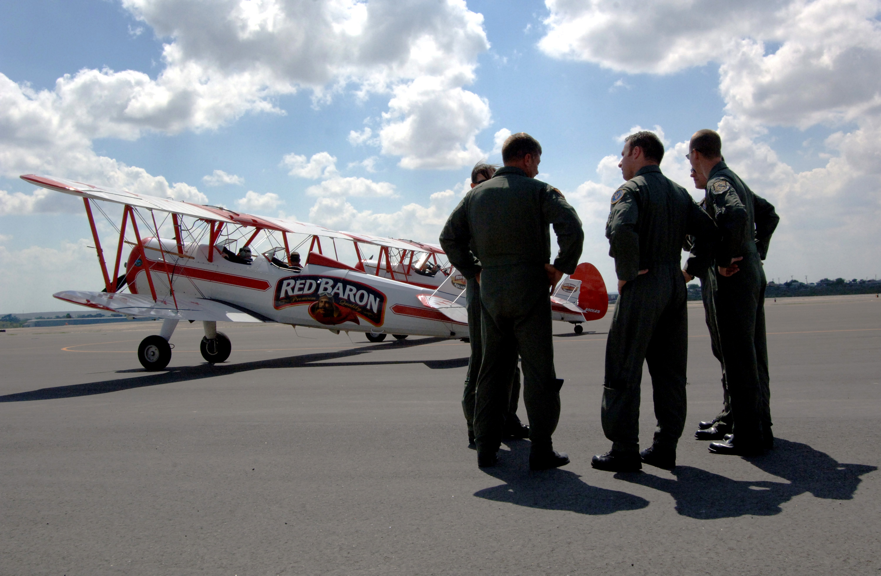 Laughlin Airmen become Baron barnstormers for day > U S  Air Force