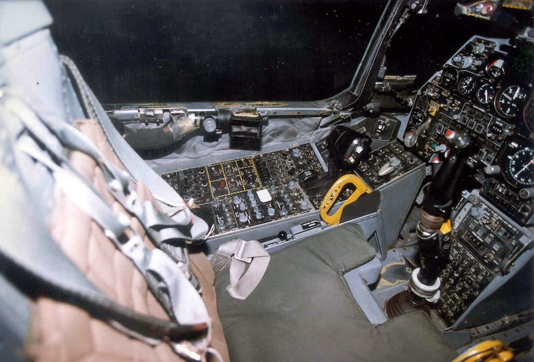 DAYTON, Ohio - Fairchild Republic A-10A Thunderbolt II cockpit at the National Museum of the U.S. Air Force. (U.S. Air Force photo)