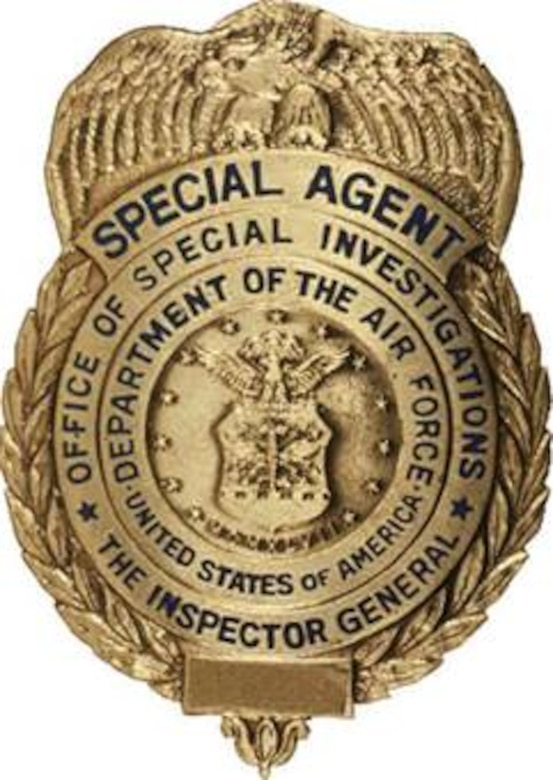 Air Force Office of Special Investigations Special Agent badge