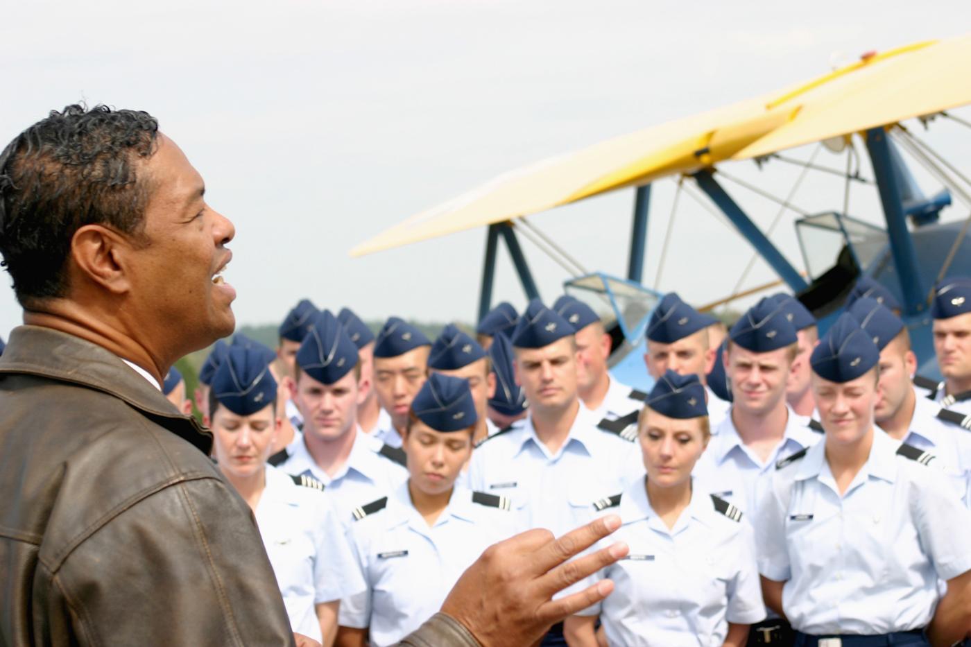 ots incorporates tuskegee airmen into new curriculum
