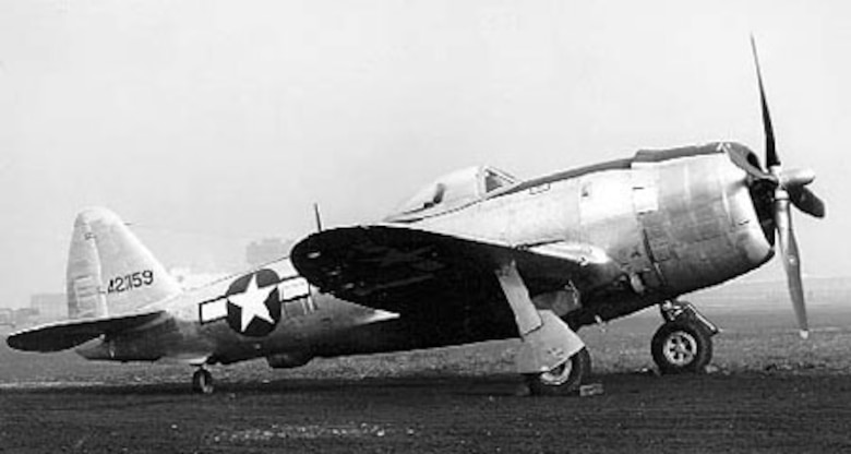Republic P-47M-1 (S/N 42-21159). (U.S. Air Force photo)