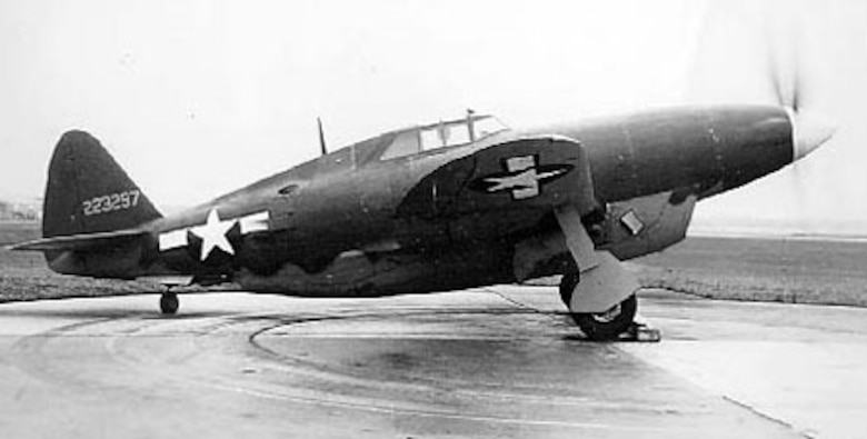 Republic XP-47H (S/N 42-23297). (U.S. Air Force photo)