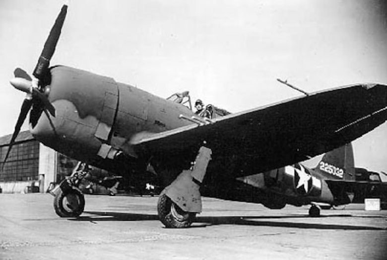 Republic P-47G-5-CU (S/N 42-25032). (U.S. Air Force photo)
