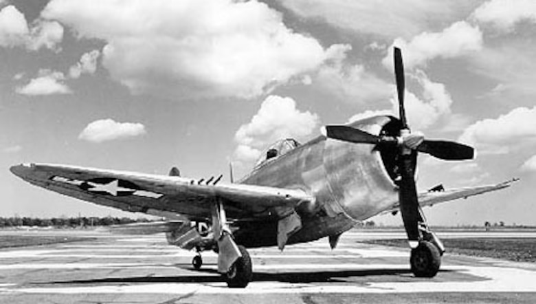 Republic P-47D-25. (U.S. Air Force photo)