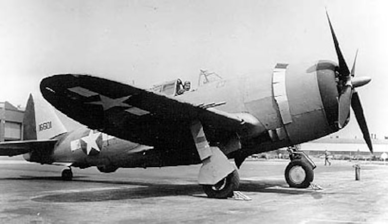 Republic P-47C-5-RE (S/N 41-6601). (U.S. Air Force photo)