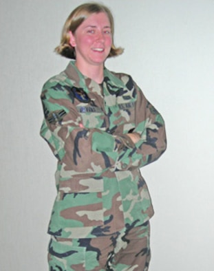 Airman 1st Class Rachel Devries of the 56th Contracting Squadron, Luke Air Force Base, Ariz.