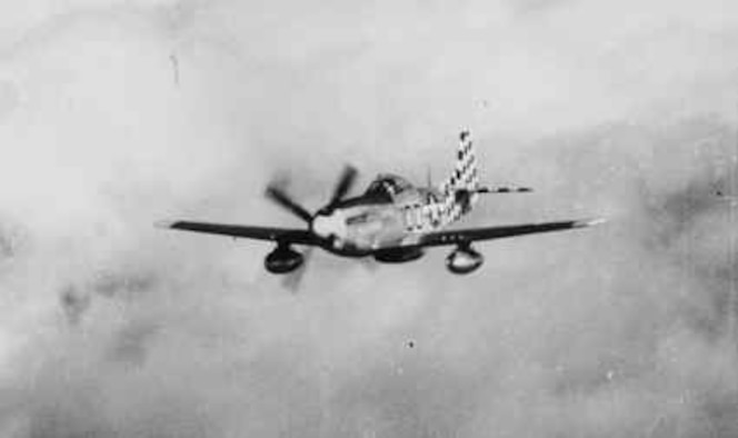 """""""Dusty Butt"""" was the personal aircraft of Col. Felix Vidal, 325th Fighter Group commander from March 2, 1945 to June 6, 1945. (Photo courtesy of the 325th Fighter Wing historian office)"""