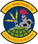 916th Maintenance Squadron patch