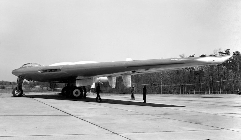Side view of Northrop YB-49. (U.S. Air Force photo)