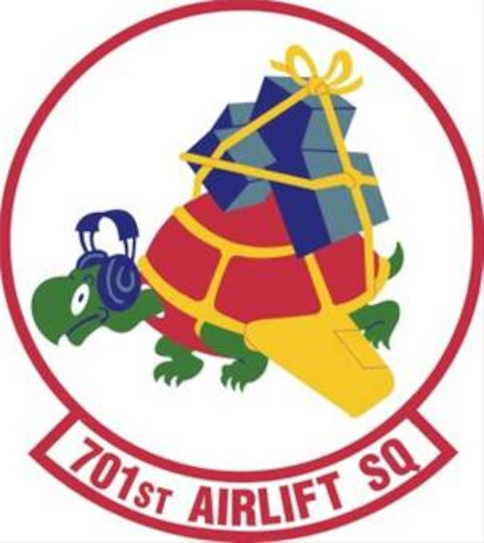 701st Airlift Sq. Patch