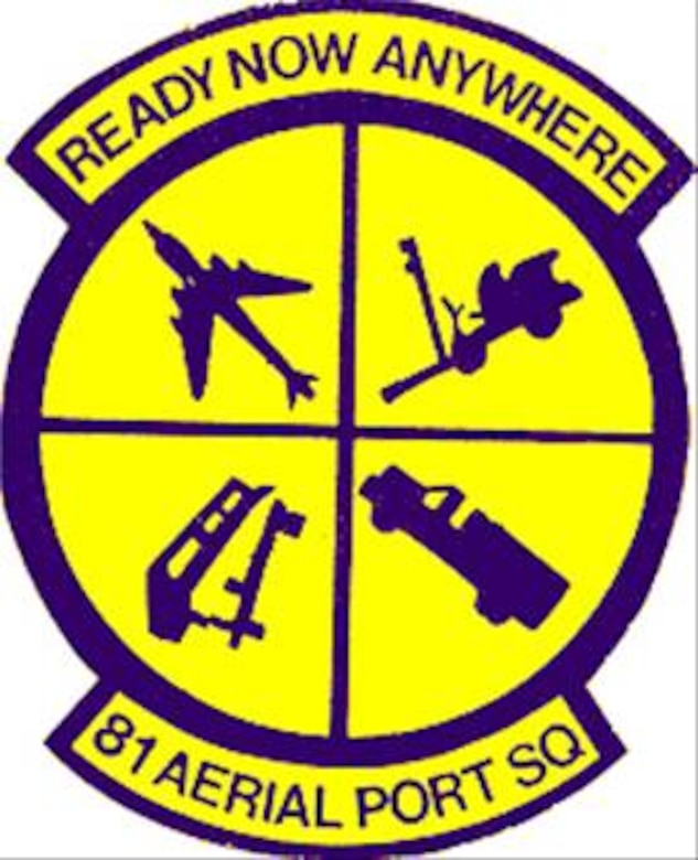 81st Aerial Port Sq. Patch