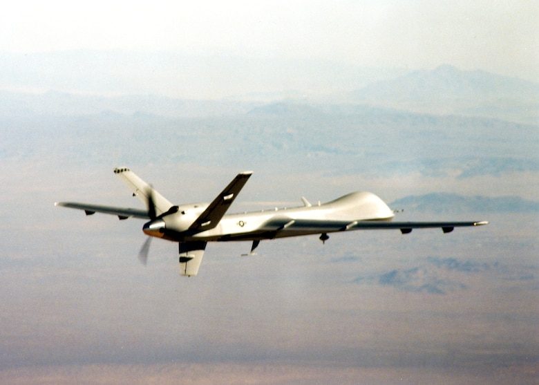"The ""Reaper"" has been chosen as the name for the MQ-9 unmanned aerial vehicle. (U.S. Air Force photo)"
