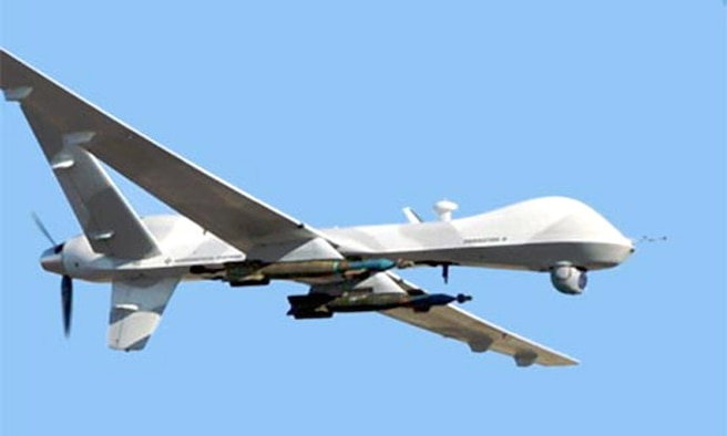 "The ""Reaper"" has been chosen as the name for the MQ-9 unmanned aerial vehicle. (Courtesy photo)"