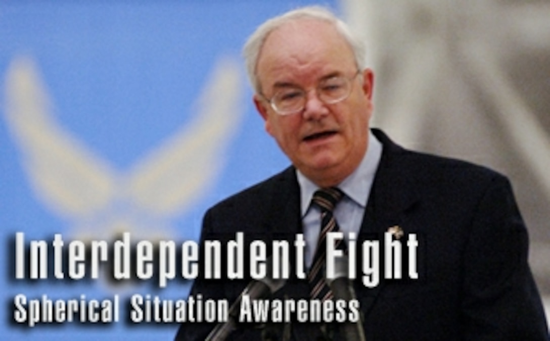 Secretary focuses on interdependence