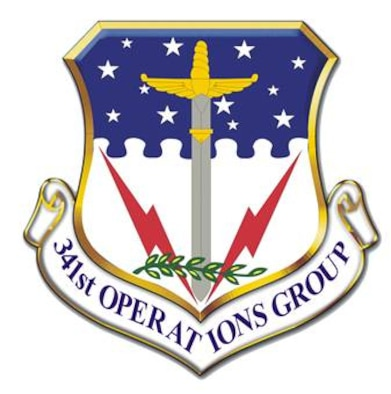 341st Operations Group shield