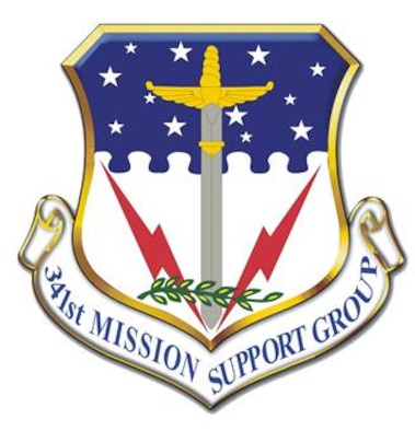 341st Mission Support Group shield