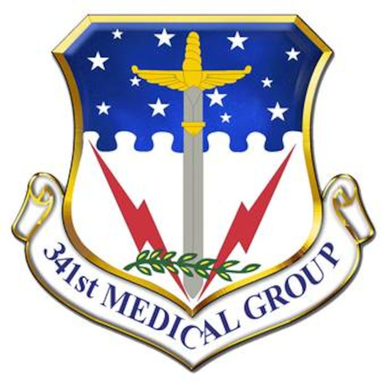 341st Medical Group shield