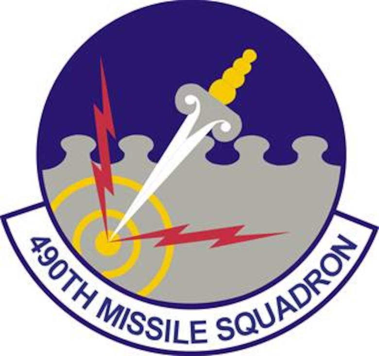 490th Missile Squadron patch