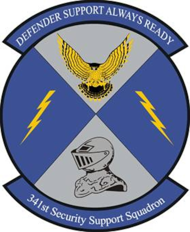 341st Security Support Squadron patch