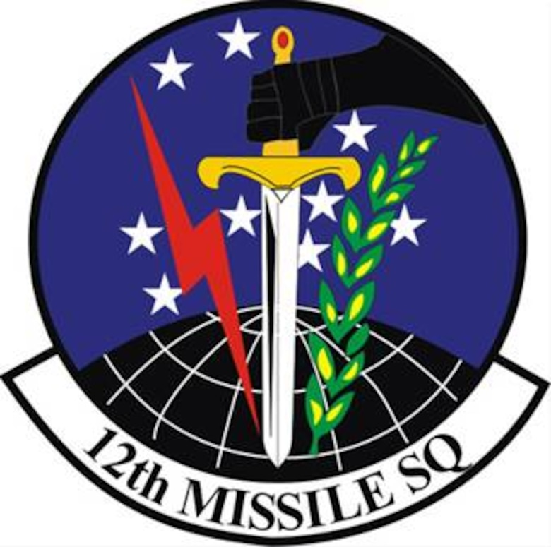 12th Missile Squadron patch