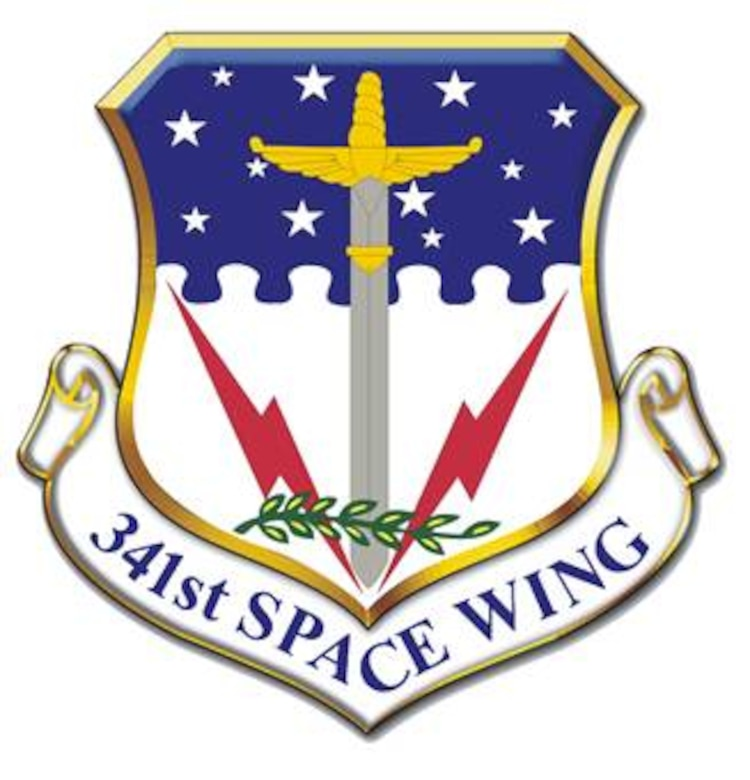 341st Space Wing shield