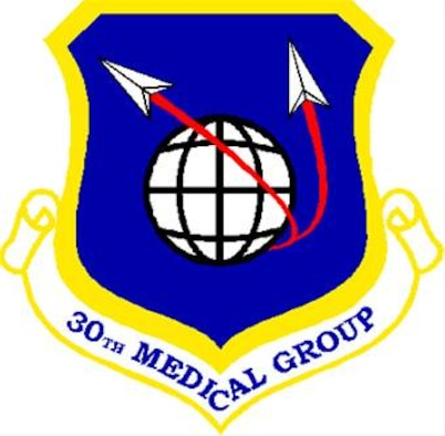 The shield of the 30th Medical Group, Vandenberg AFB, Calif.