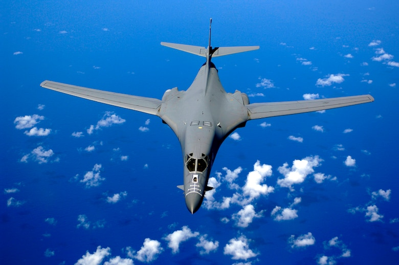 General Ronald E. Keys, Air Combat Command commander, said the Air Force is looking to get a next-generation long-range bomber by 2018.  The command is funded for a new bomber, he said during his presentation Sept. 26 at the Air Force Association's Air & Space Conference and Technology Exposition in Washington D.C.  Meanwhile, the current bomber fleet, including this B-1B Lancer, flying over the Pacific Ocean, will continue to be a mainstay in the war on terrorism.  (U.S. Air Force Photo/Staff Sgt. Bennie J. Davis III)