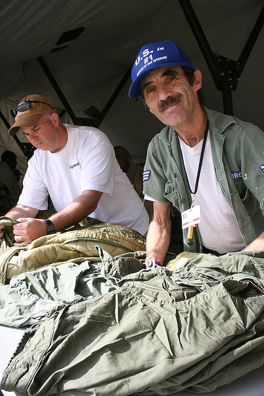 McConnell Airmen 'Stand Down' for homeless veterans > U S