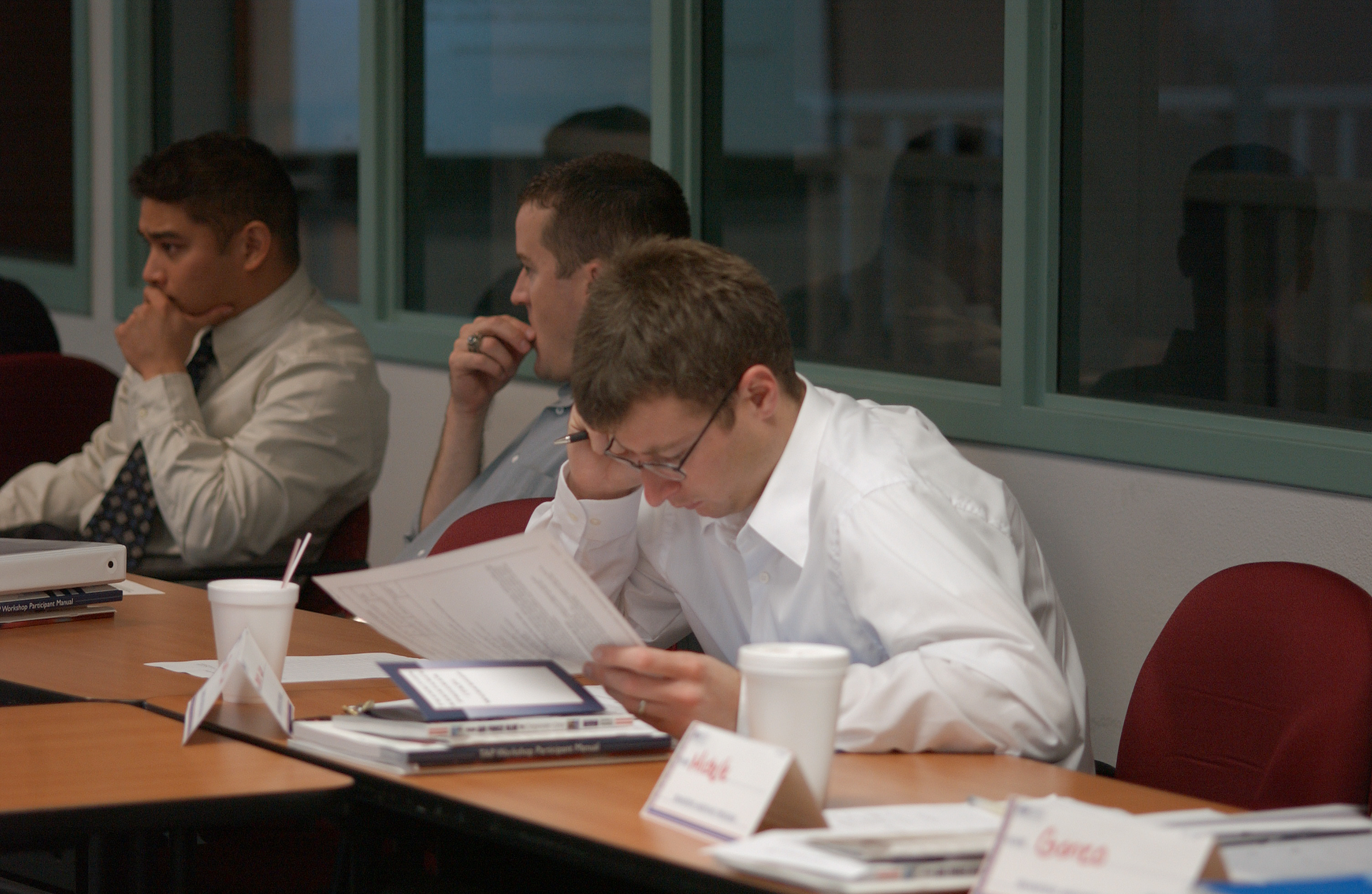 AFRC class helps servicemembers transition to civilian life